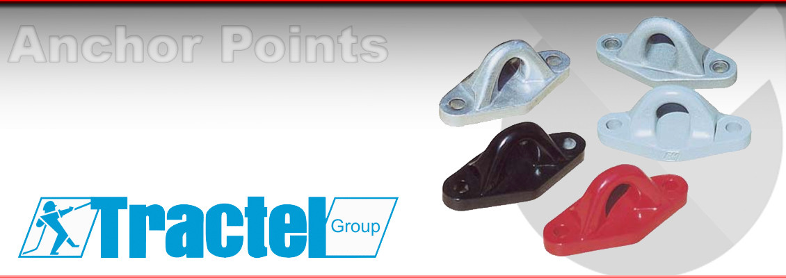 Height Safety Anchor points from Tractel