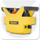 Joystick controller made by autec for controlling overhead cranes such as Demag cranes