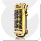 Autec Modular 8 button remote for the safe operation of electric overhead cranes