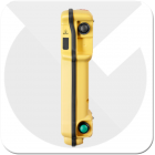 Autec Mk handset for controlling industrial lifting equipment