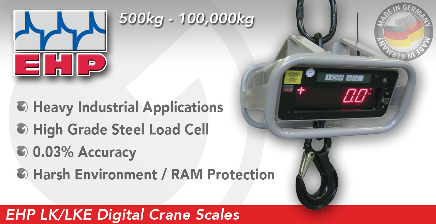 EHP LK / LKE Digital Detachable Crane Scales