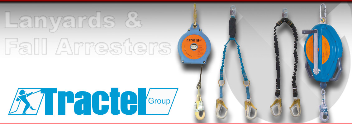 Lanyards and Fall Arresters from Tractel