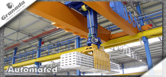 Automated Crane systems from granada cranes and handling