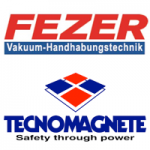 Fezer VcacuLift Vacuum Lift and Tecnomagnete Electro Magnetic MagLift Lifting from Granada Cranes and Handling