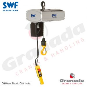 SWF Chainster Electric Chain Hoist from Granada Cranes and Handling