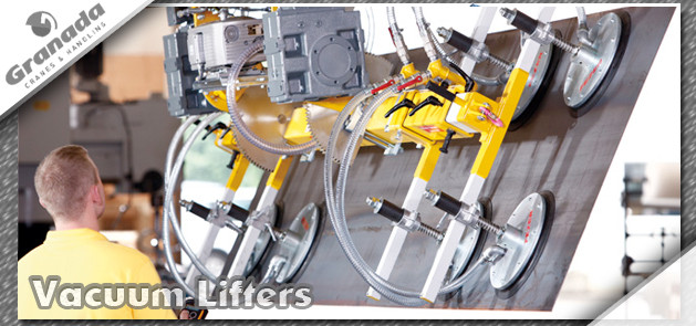 Light Lifting Equipment and Fezer Vacuum lifters and vacuum lifting equipment from granada cranes and handling
