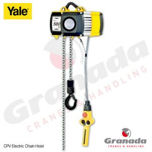 Yale CPV Electric Chain Hoist from Granada Cranes and Handling