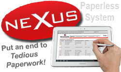NEXUS Paperless system from Granada Cranes and Handling