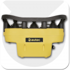 Radio remote control from autec for controlling SWF Misia and Stahl hoist