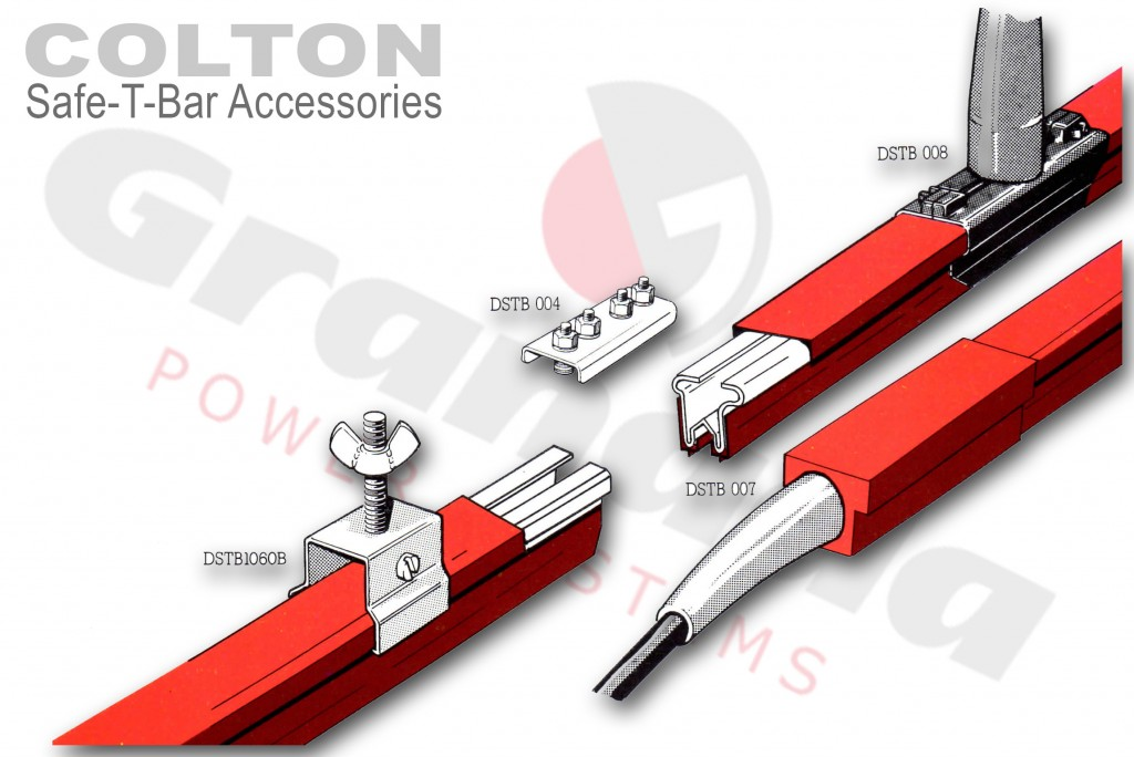 Colton Safe-T-Bar Conductor System Accessories