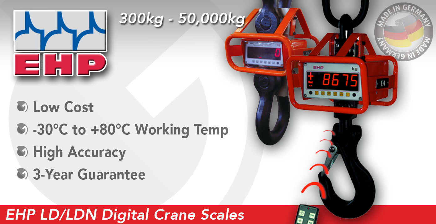 EHP LD / LDN Digital Detachable Crane Scales
