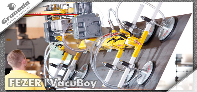 Fezer Vacuboy vacuum lifting equipment from Granada Cranes and Handling
