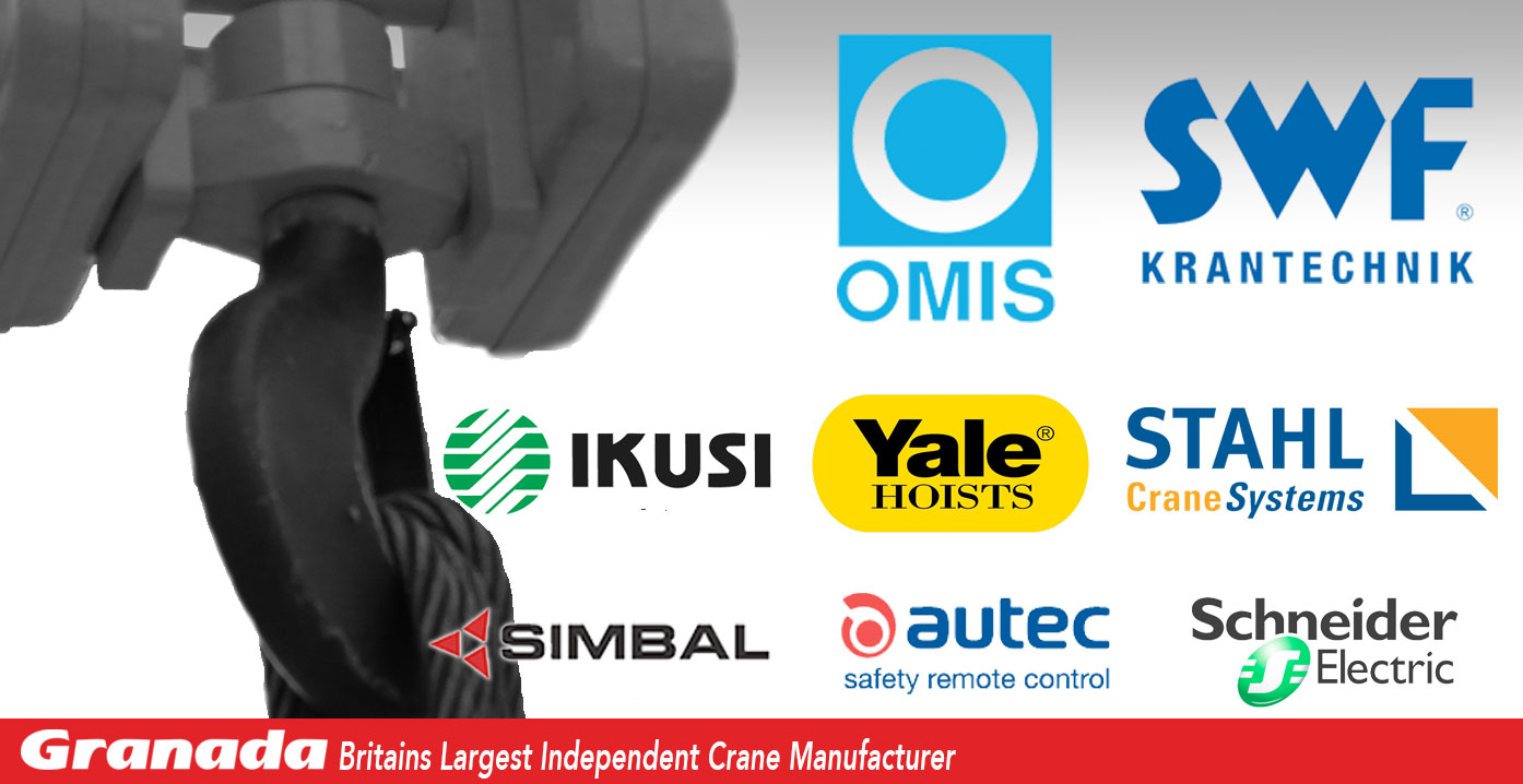 Independent crane manufacturer using equipment from SWF, Stahl, Omis, Yale and others
