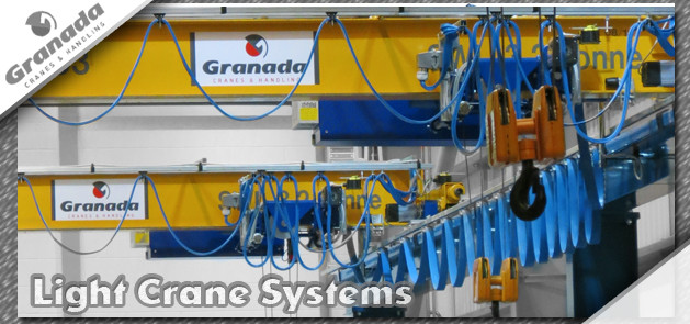 Light Lifting Equipment and Light crane systems from granada