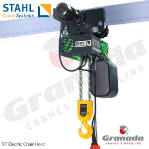 Stahl ST Chain Hoist for Overhead Cranes and JIB Cranes