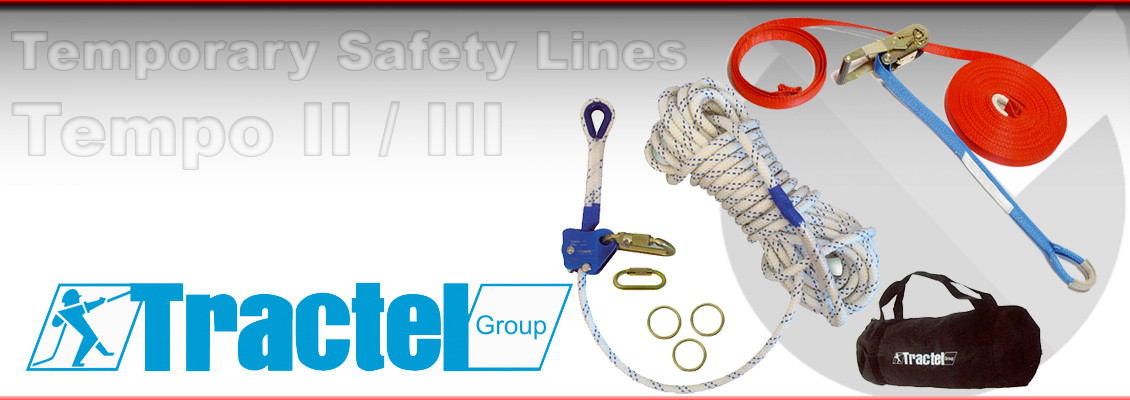 Tractel Tempo II and Tempo III Temporary Safety Systems from Granada Cranes and Handling