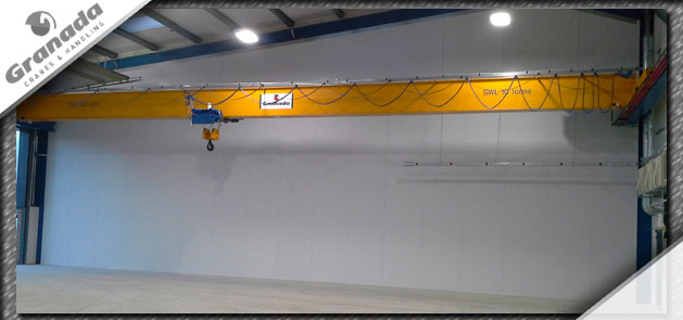Case study 1 body image 3 of a Single girder 10 tonne crane