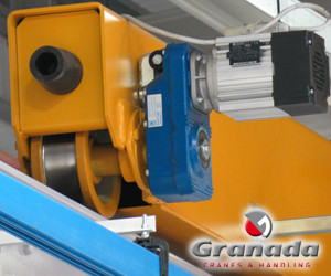 Omis contructed end carriage from Granada cranes and handling