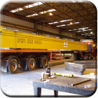 Completed box girder for overhead crane