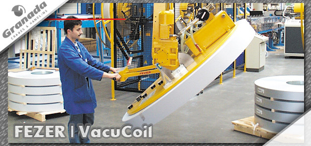 Fezer Vacucoil | Vacuum lifting equiopment from granada cranes and handling
