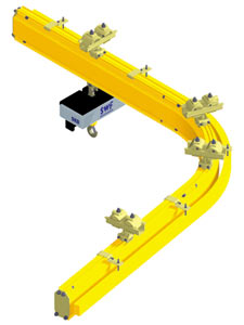 Monorail cranes from granada cranes and handling
