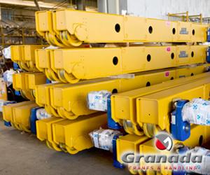 A range of end carriages are available for fast delivery from Granada Cranes in oldbury