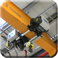 Overhead cranes with SWF hoists supplied by Granada Cranes and Handling. Case study for Soft Tissue and paper recycling facility