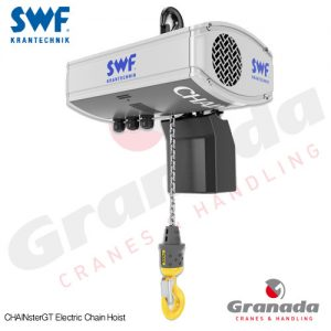 SWF ChainsterGT inverter controlled Electric Chain Hoist from Granada Cranes and Handling