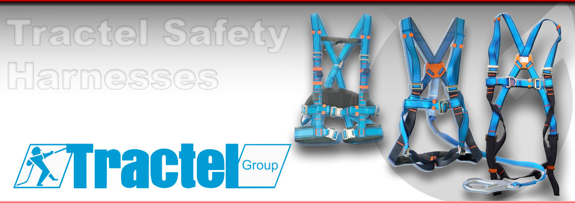 Height Safety Equipment, Tractel Safety Harnesses from Granada Cranes and Handling
