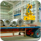magnetic coil handling solutions from granda cranes and handling