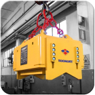 Tecnomagnete Tecno-Lift RD from Granada Cranes for handling round ferrous loads